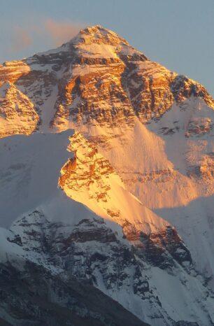 Touristenboom Mount Everest